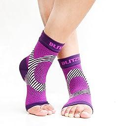 Foot Sleeves Purple S/M