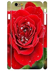 3D Print Elegant Red Rose Tough Phone Drop Protection Case for Iphone 6 Plus 5.5 Inch by Maris's Diary