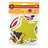 Eureka Peanuts Birthday Assorted Paper Cut-Outs, 12 Each of 3 Different Designs, 36-Piece