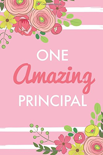 Read Online One Amazing Principal (6x9 Journal): Pink, Lightly Lined, 120 Pages, Perfect for Notes, Journaling, Mother's Day and Christmas Gifts pdf