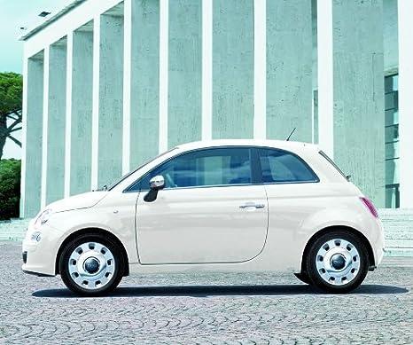 """Genuine Fiat 50015 """"de plástico vintage acero Llantas ..."""