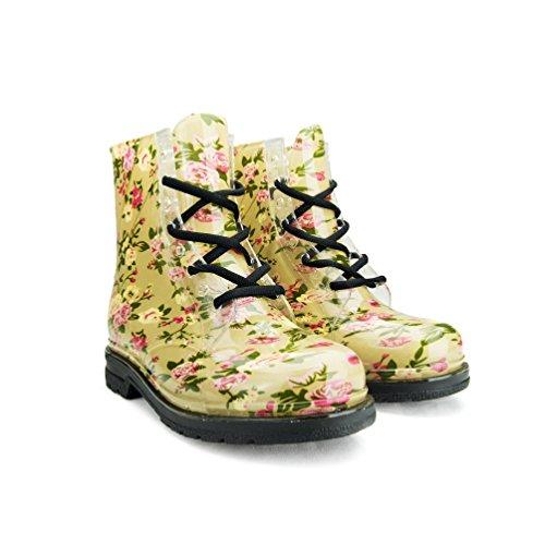 clear rain boots women - 8