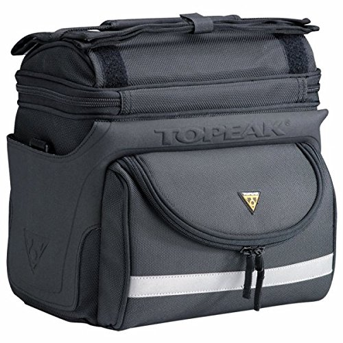 Topeak Tourguide DX II Handlebar Bag 7.7 Liter Black by Topeak