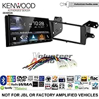 Volunteer Audio Kenwood DDX9904S Double Din Radio Install Kit with Apple CarPlay Android Auto Bluetooth Fits 2012-2015 Non Amplified Toyota Prius C