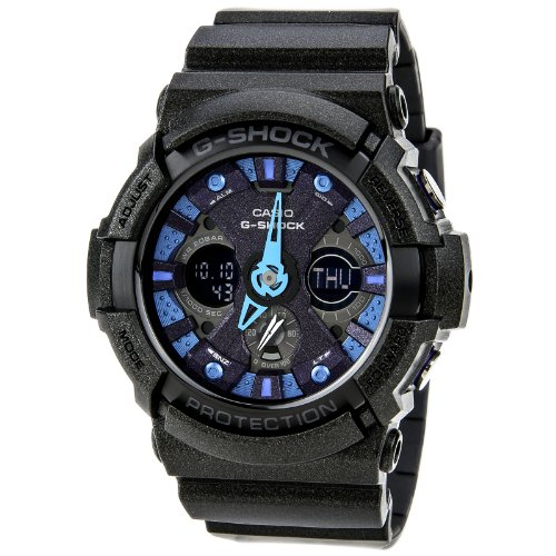 Casio G Shock GA200SH 2A Glitter Black