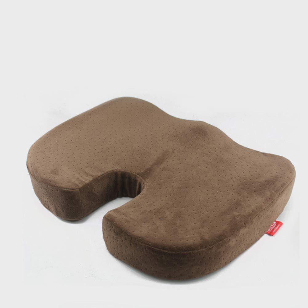 GUOSHIMAOYI Cojines de la Silla de Cena,No fácilmente deParamado Respirable Resistente al Desgaste Algodón de la Memoria para Coche Oficina Restaurante-A 44x35x7cm(17x14x3)