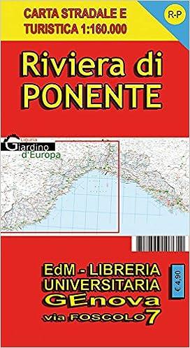 Cartina Stradale Liguria Ponente.Amazon It Carta Stradale E Turistica Di Liguria 1 160 000 Riviera Di Ponente Libri