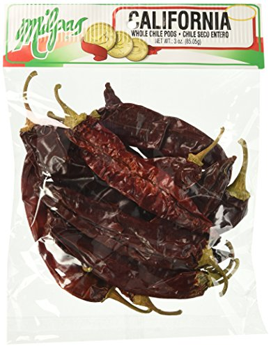 MILPAS Pods, California, 3 Ounce (Pack of 12) (Pod Chili California)