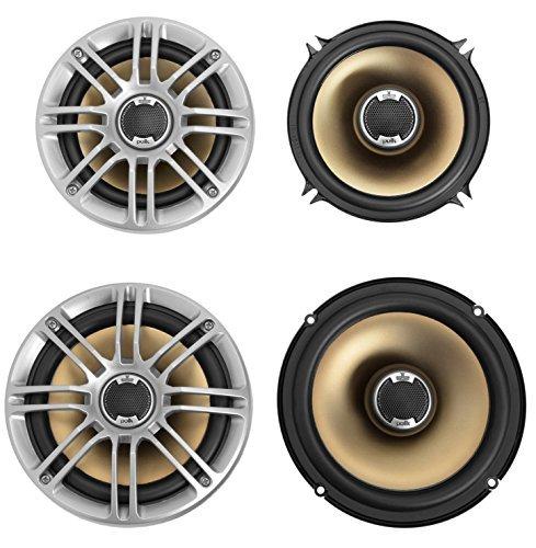 5.25' Component Speaker Package (2x Polk Audio DB521 5.25'' Speakers and 2x DB651 6.5'' Speakers)
