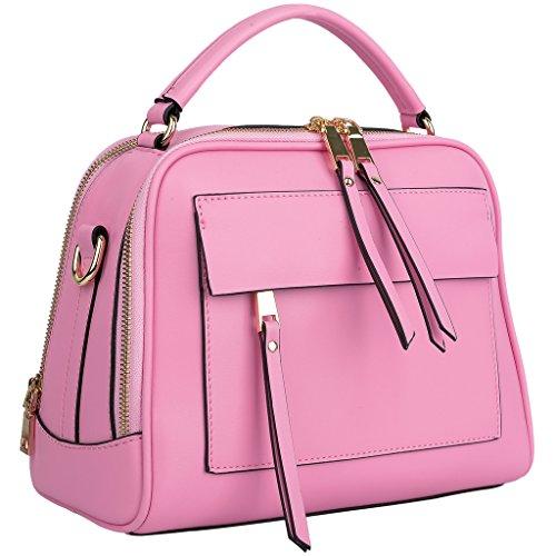 YALUXE Handbag Crossbody Leather Shoulder