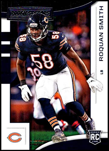 2018 Rookies and Stars Football #142 Roquan Smith Chicago Bears RC Rookie Official NFL Trading Card made by Panini - Nfl Bowman Chrome Trading Cards