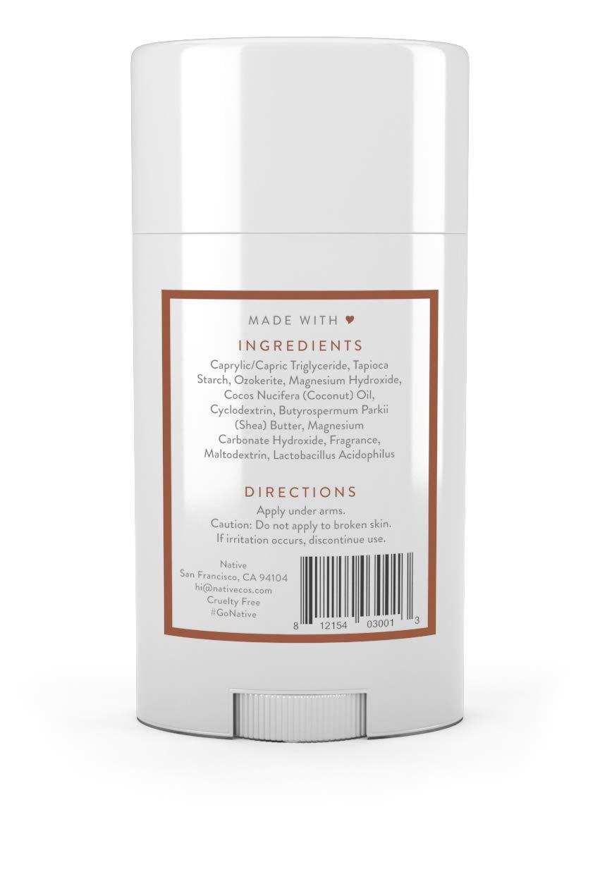 Native Deodorant Coconut Vanilla, Aluminum and Paraben free 2.65 oz 2 pack