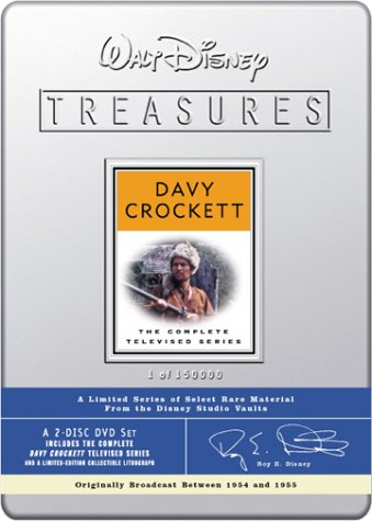Walt Disney Treasures: Davy Crockett - The Complete Televised Series by Walt Disney Video