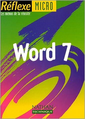 Word 7 (sous wind), mémo numéro 40 epub, pdf
