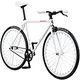 Pure Cycles created the ultimate Pure Fix Original Fixed Gear single speed bicycle starting with the simplicity and elegance of an urban geometry frame and straight fork made from durable high tensile steel. A Neco threadless Headset holds pure Fix r...