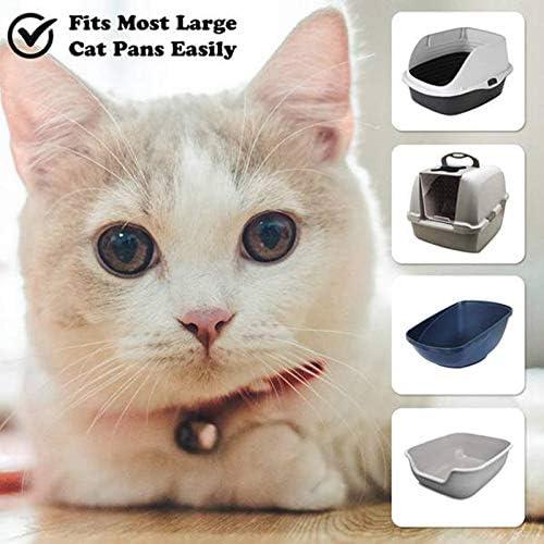 SODIAL F/áCil de Limpiar Accesorio Cuerda Cord/óN Suministros para Mascotas Bolsa de Arena para Gatos de Caca de Basura Limpia Durable Higi/éNico Ecol/óGico