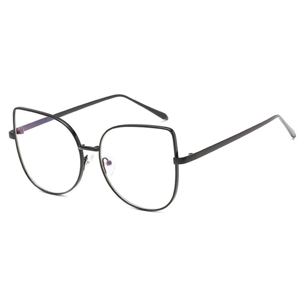 Hibote Occhiali Cat Eye da uomo donna - Occhiali da vista trasparenti - Occhiali da vista 122907 X171229YJJ0705-X
