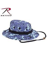 Rothco Boonie Hat, Digital Sky Blue Camo, 7