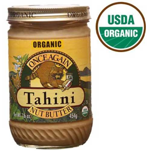 Once Again Organic Sesame Tahini, 16 Ounce -- 12 per case. by Once Again Nut Butter