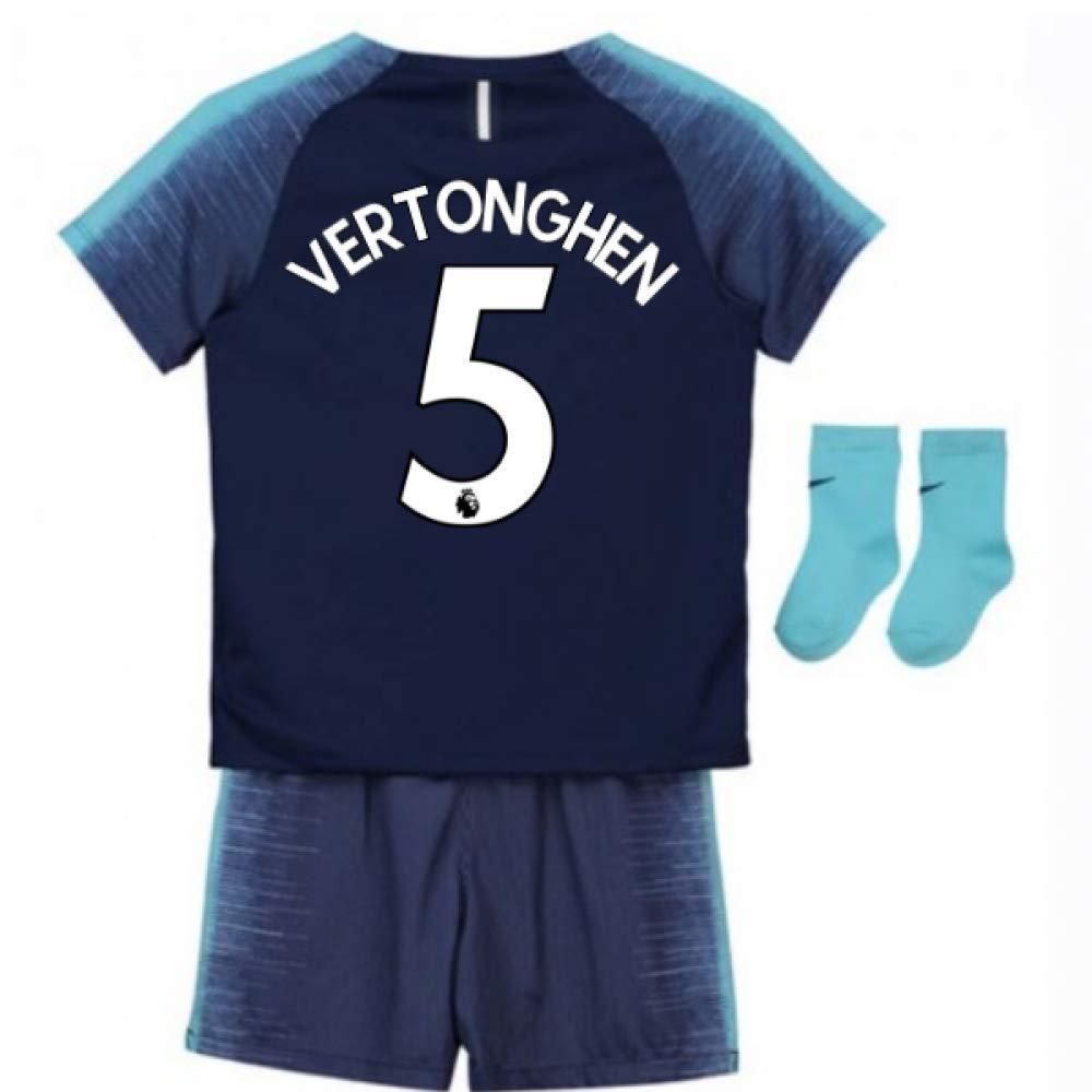 UKSoccershop 2018-2019 Tottenham Away Nike Baby Kit (Jan Vertonghen 5)