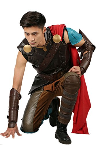 Thor 3 Costume Outfit Suit for Adult Men Halloween Cosplay XL -