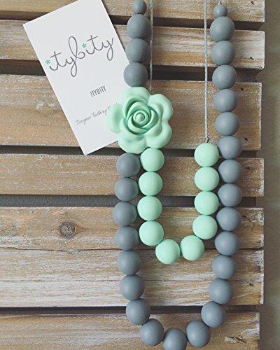 Baby Mom, Silicone Teething Beads, BPA Free