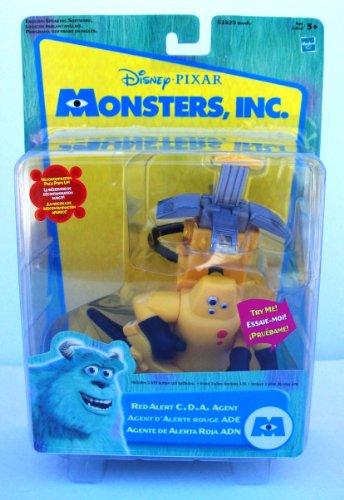 Hasbro Monsters, Inc  Red Alert Cda Agent Agente Alerta Roja Adn