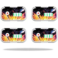 Skin For DJI Phantom 3 Drone Battery (4 pack) – Leo Galaxy | MightySkins Protective, Durable, and Unique Vinyl Decal wrap cover | Easy To Apply, Remove, and Change Styles | Made in the USA