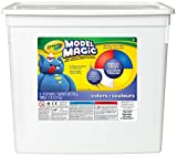 Crayola; Model Magic; Primary Colors Modeling Compound; Art Tools; 2 lb. Resealable Bucket; Perfect for Classroom Art Activities