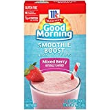McCormick Good Morning Boost Smoothie Mix Packets , 1.28 Ounce (Mixed Berry, Pack - 4)