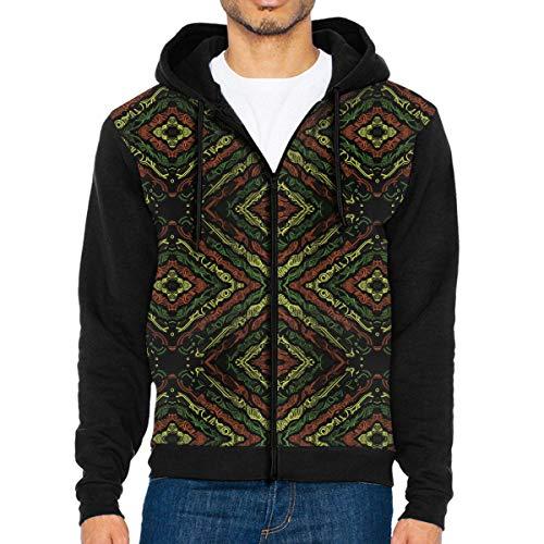 WEIPING LF Men Mystic Totem Hooded Sweatshirt ()