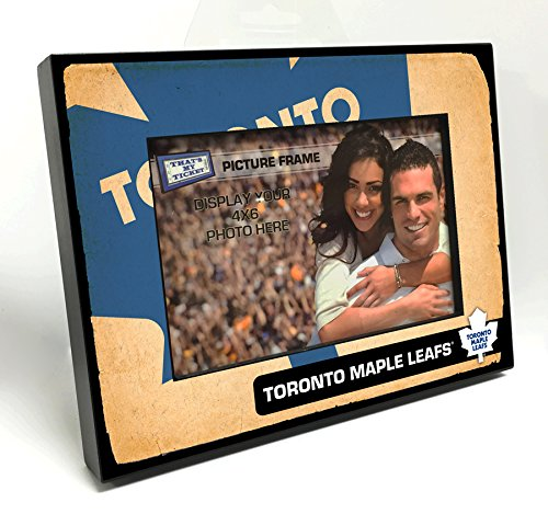NHL Toronto Maple Leafs Vintage Look Wooden Picture - Toronto Maple Leafs Pictures