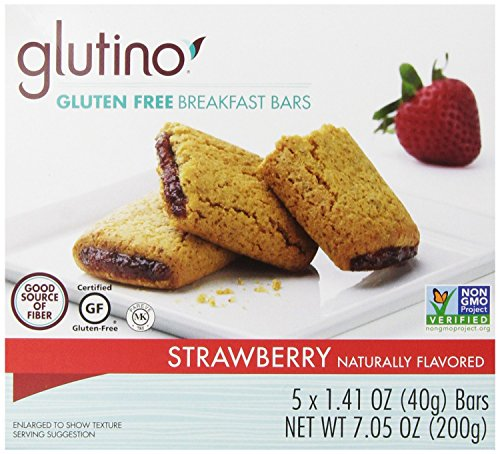 (Glutino - Breakfast Bars - Strawberry - 4 Pack)