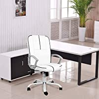 Smugchair Office Ergonomic Office Chair Executive Bonded Leather Computer Chair