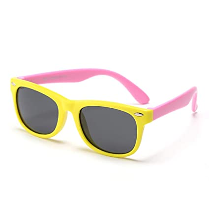 QIAO Gafas de Sol para niños Gafas de Sol para bebés Chicos ...
