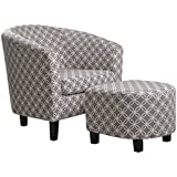 NHI Express Paisley Chair, Grey