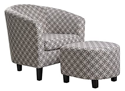 Charming NHI Express Paisley Chair, Grey