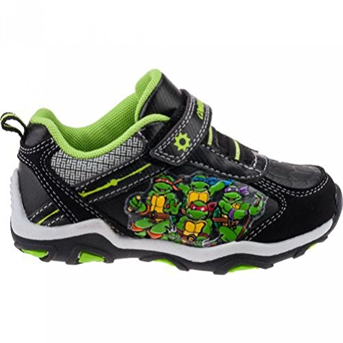 Teenage Mutant Ninja Turtles Boy's Little Kids Sneakers (9)