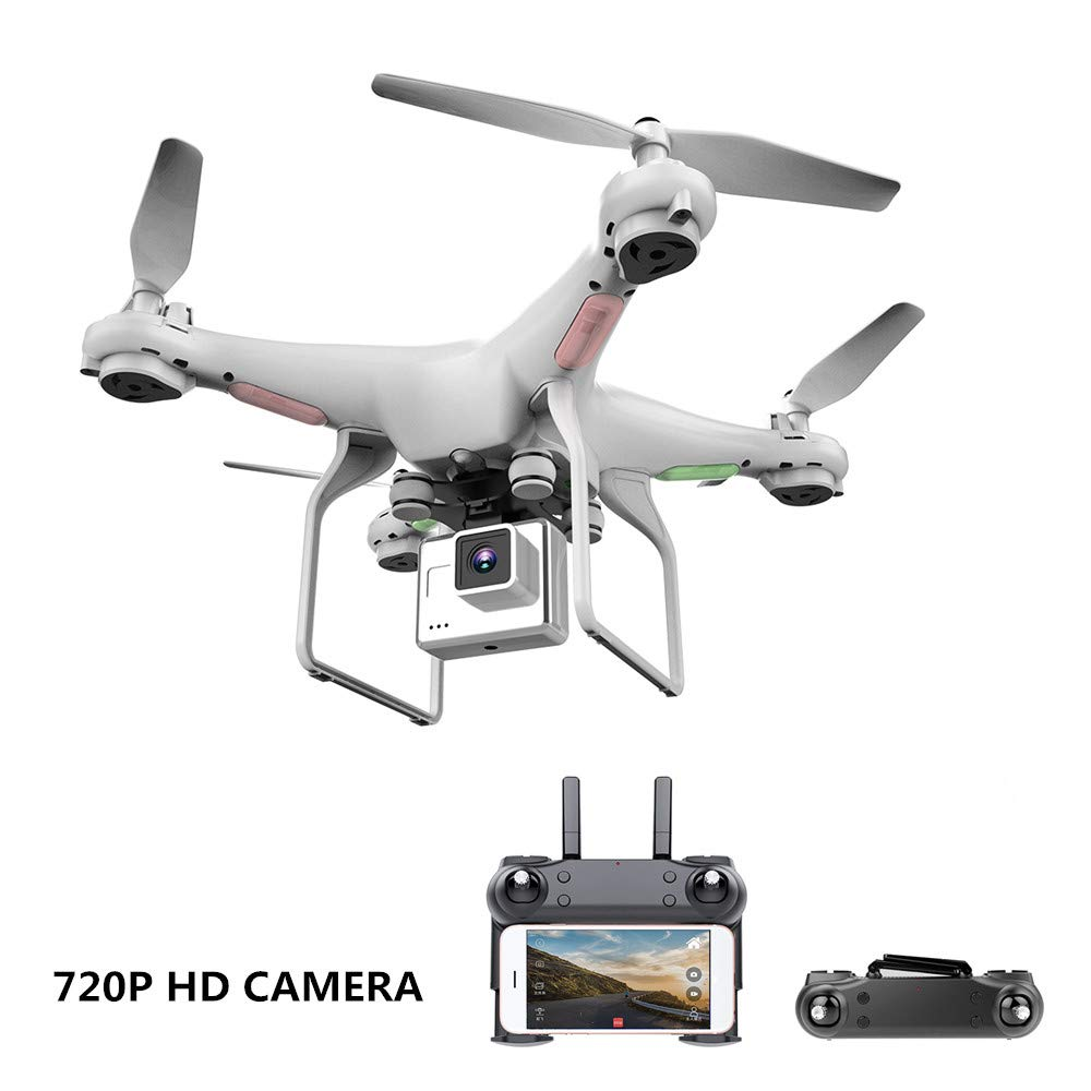 H&Y Quadcopter, Upgrate Drohne mit Kamera 720 P HD HD HD Hover Helikopter Dron RC Drone Full HD Kamera Drohne Professional 87e896