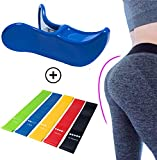 Amorvita Sexy Butt & Pelvic Exercise kit - glute Muscle Workout - kegel Exerciser - Post partum Recovery - Pelvic Hip Trainer - Thigh Toner - Bonus Set of Variable Resistance Bands - Beautiful Booty