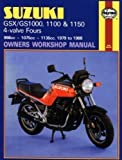 Suzuki GSX/GS1000, 1100 and 1150 4-valve Fours Owners Workshop Manual (Motorcycle Manuals) 2nd (second) Revised Edition by Shoemark, Pete published by Haynes Manuals Inc (1988)