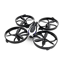 TOZO® Q2020 Drone RC Quadcopter Altitude Hold Headless RTF 3D 360 Degree Flips & Rolls 6-Axis Gyro 4CH 2.4Ghz Remote Control Helicopter Height Hold Steady Super Easy Fly for Training. Black