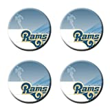St. Louis RAMS Custom Style Classic Cork Pad Mat-Round Coasters 4 Piece Set Cup Mat Mug Can Water Bottle Drink kichen house