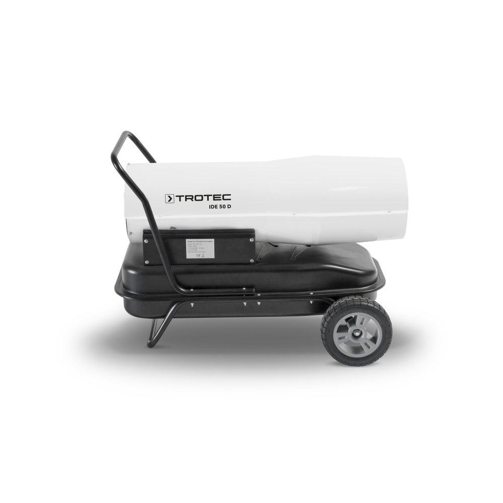 TROTEC Calefactor de gasoil directo IDE 50 D Potencia térmica nominal de 50 kW: Amazon.es: Bricolaje y herramientas