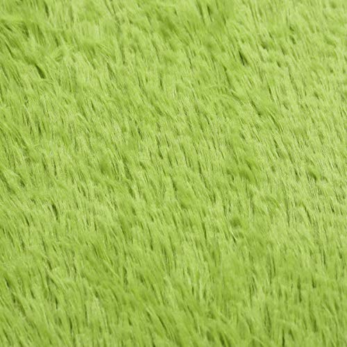 Home Textiles Carpets Mats Rugs - 70x140cm Bedroom Living Room Soft Shaggy Anti Slip Carpet Absorbent Mat - Olive Drab - 1x Shaggy anti slip carpet Detail pictures:
