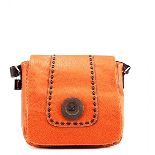 Style Bag Style Hb Brown Woman Orange Medium Brown To Wallet Bn5w4