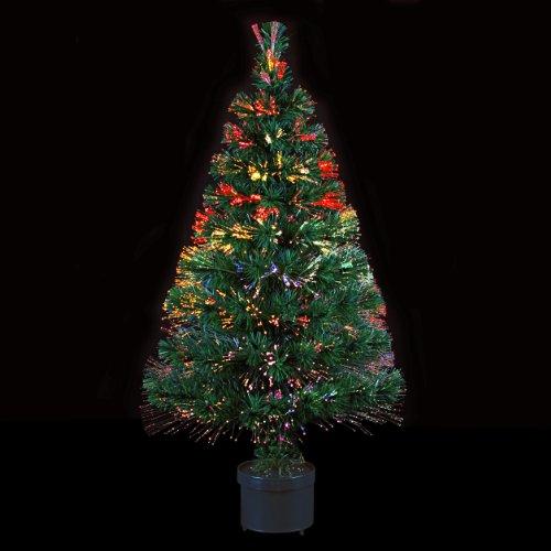 DECO NOEL - Sapin de Noël artificiel lumineux en fibre optique ...