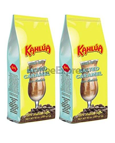 Kahlua - Salted Caramel Gourmet Ground Coffee (2 bags/10oz -