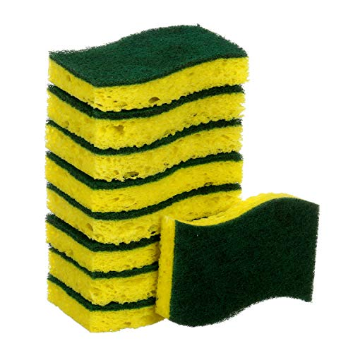 Scotch-Brite Heavy Duty Scrub Sponges, 9 Scrub Sponges, Stands Up to Stuck-on Grime