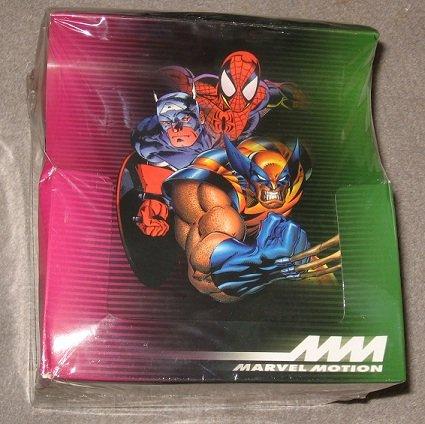 Factory Sealed 18 Pack Box 1996 Fleer/Skybox Marvel Motio...